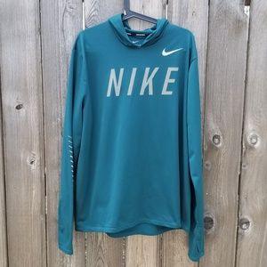 Nike Miler Flash Dry DriFit Running Hoodie Reflect